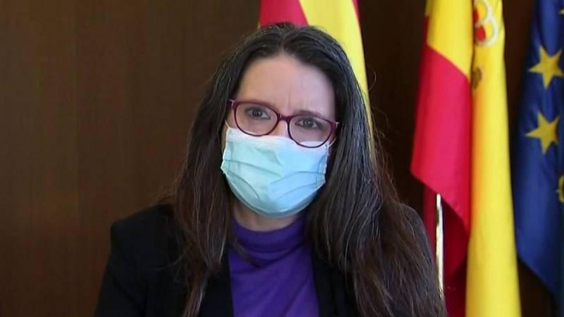 """Oltra, sobre la alta incidencia en la Comunidad Valenciana: """"Ahora estamos absorbiendo las consecuencias de esa frase que decía 'Salvar la Navidad'"""""""