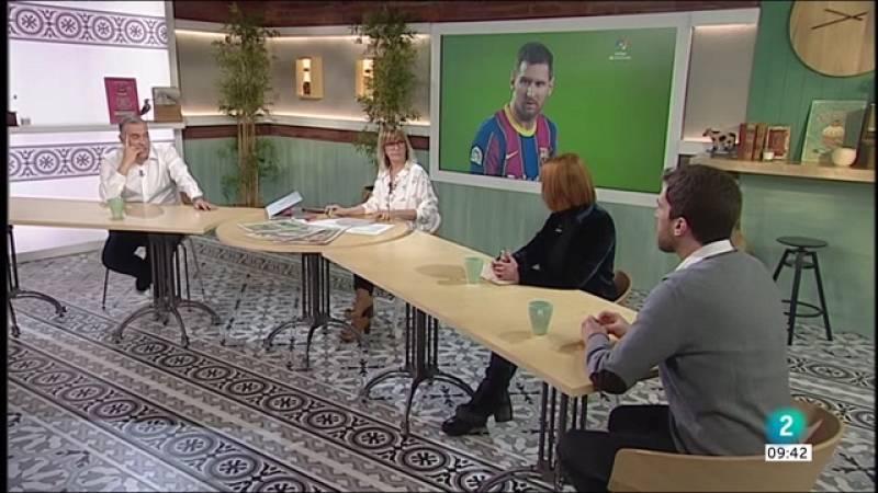 Ignacio Garriga, Pablo Simón i el contracte de Messi
