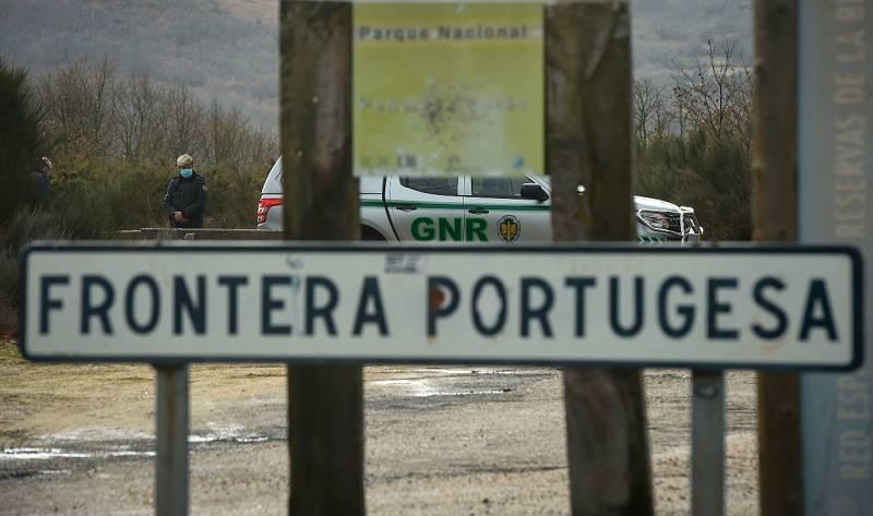 Pueblos 'partidos en dos' por el cierre fronterizo de Portugal