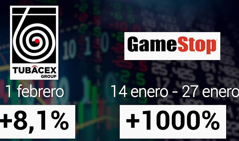 ¿En qué se parecen el caso de Tubacex y el de Gamestop?