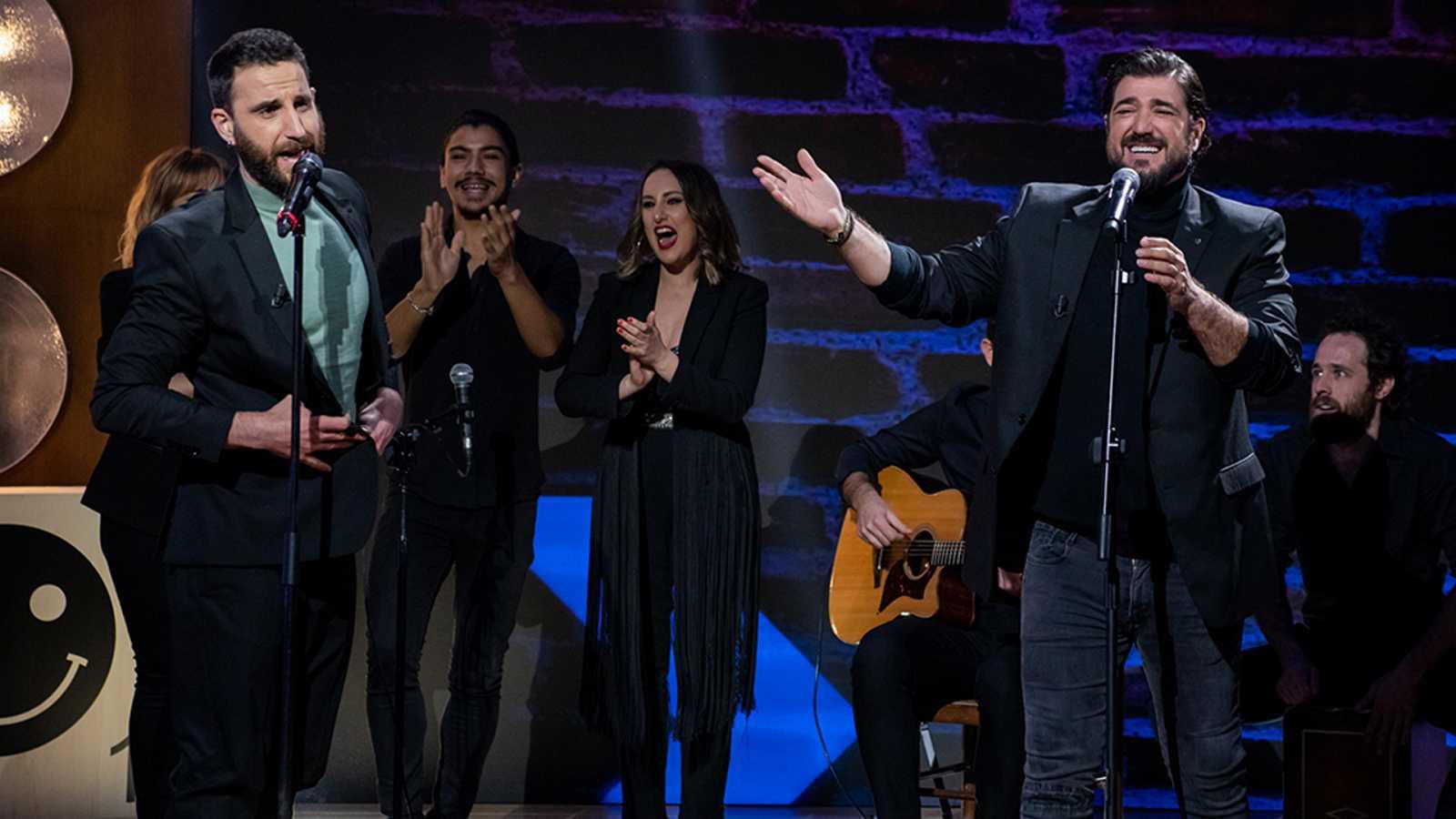 La noche D - El reto de canciones de Antonio Orozco y Dani Rovira