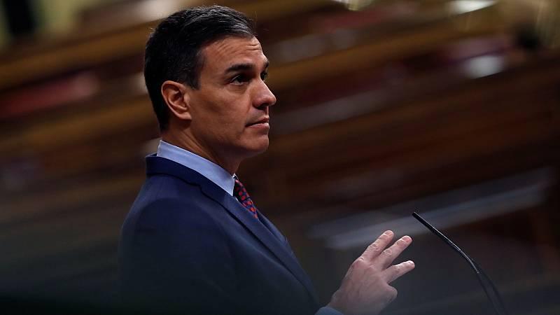 Sánchez afirma que Abascal está demostrando ¿más responsabilidad de país¿ desde la oposición que Casado