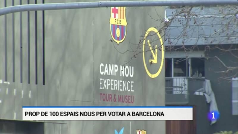 L'Auditori del Camp Nou serà un dels nous espais habilitats per anar a votar el 14-F