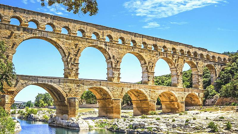 Ingeniería romana - Los acueductos I - ver ahora