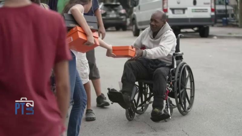 Iniciativa para ayudar a las personas sin hogar