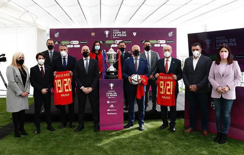 Presentada la Final de la Copa de la Reina de fútbol en Málaga