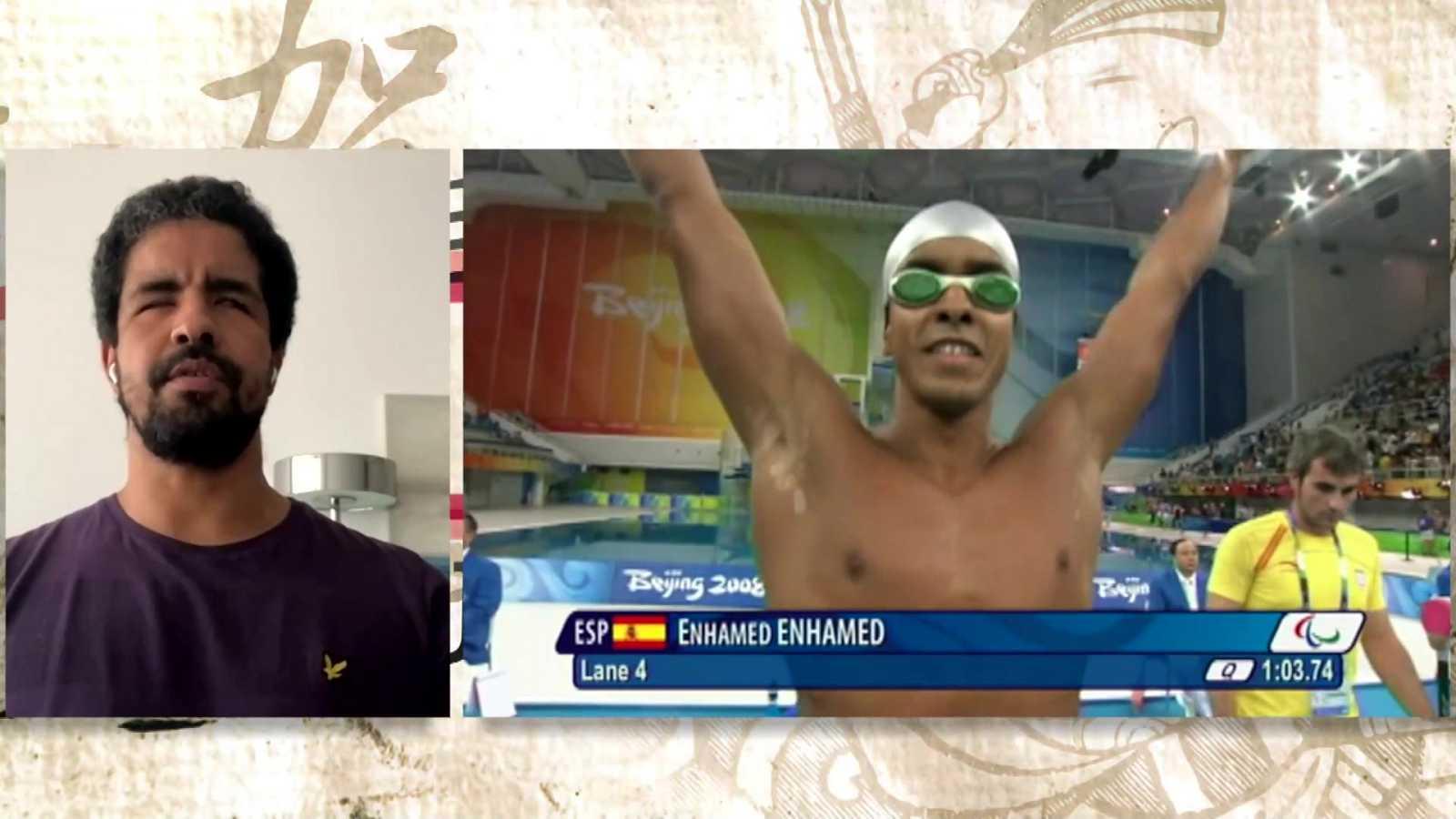 Objetivo Tokio - Programa 132 Paralímpicos: Enhamed Enhamed, cuádruple campeón paralímpico de natación - ver ahora
