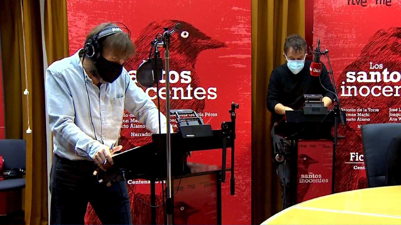 Radio Nacional graba la versión sonora de Los Santos Inocentes de Miguel Delibes