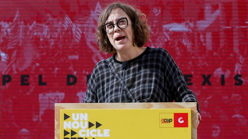 """Reguant (CUP): """"El Estado español niega sistemáticamente leyes avanzadas. Es necesaria la autodeterminación"""""""