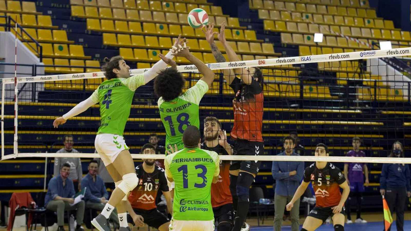 Copa del Rey de voleibol, cuartos: Urbia Uenergía Voley Palma - Conectabalear CV Manacor - partido completo