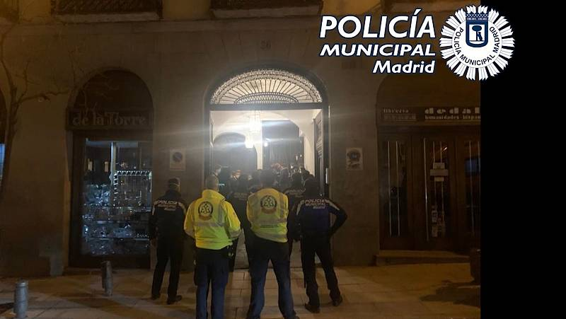 La policía investiga si Madrid se ha convertido en el destino de los jóvenes franceses para salir de fiesta