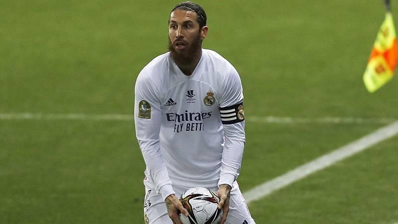 Sergio Ramos es operado del menisco y estará entre seis y ocho semanas de baja