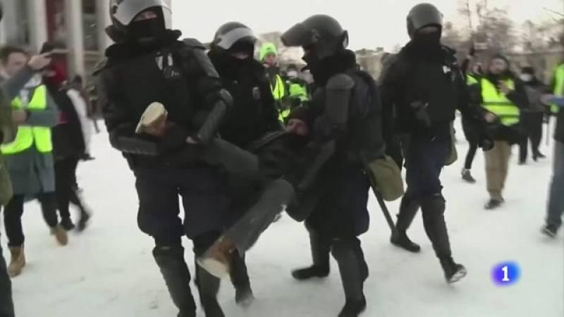 Primer fin de semana sin protestas en Rusia desde la detención del opositor Alexei Navalni