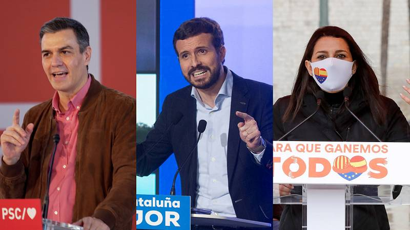 Los líderes nacionales apuran la campaña a una semana del 14F para pedir el voto en Cataluña