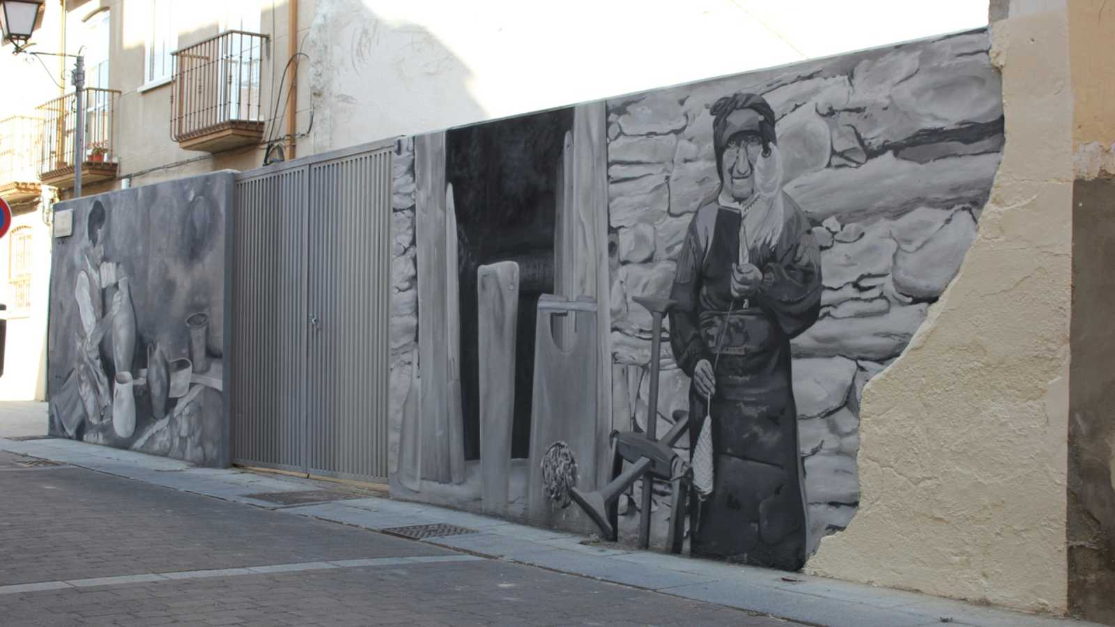 Zamora, un museo de arte urbano