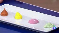 Miguel Ángel Muñoz nos enseña cómo hacer mayonesas de colores