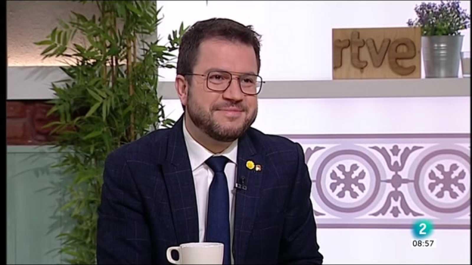 """Pere Aragonès: """"Només dos candidats poden tenir el suport: Illa o Aragonès"""""""