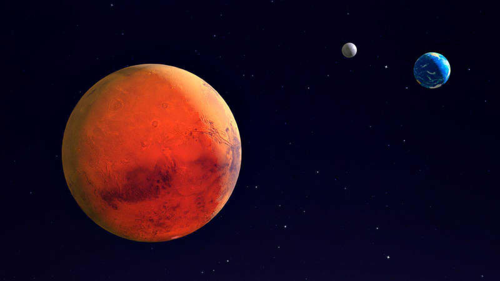 Tres misiones espaciales coincidirán en marte en los próximos diez días