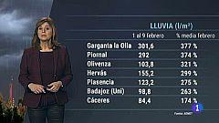 El tiempo en Extremadura - 10/02/2021