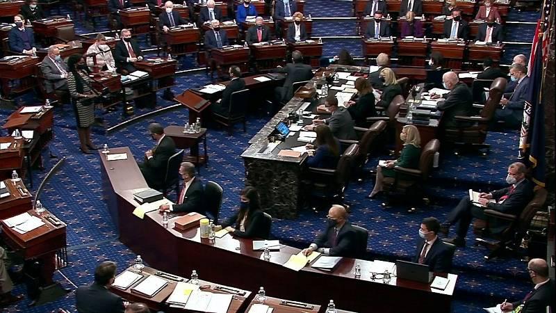El 'impeachment' a Trump continúa después de que el Senado lo declarara constitucional