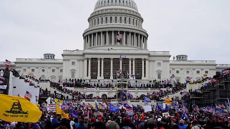 Trumpistas que estuvieron en las protestas ante el Capitolio opinan sobre el 'impeachment'