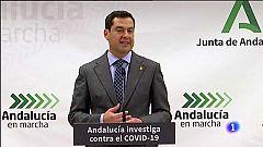 Informativo Andalucía - Moreno anuncia la revisión de restricciones cada siete días