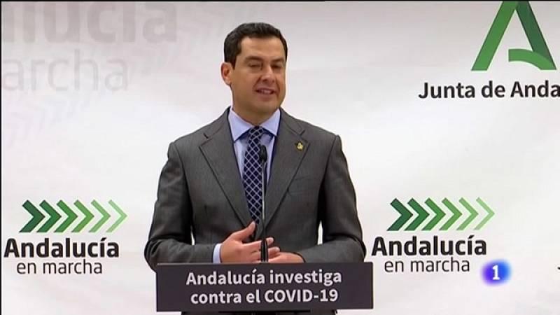 Informativo Andalucía - Moreno anuncia la revisión de restricciones cada siete días - Ver ahora