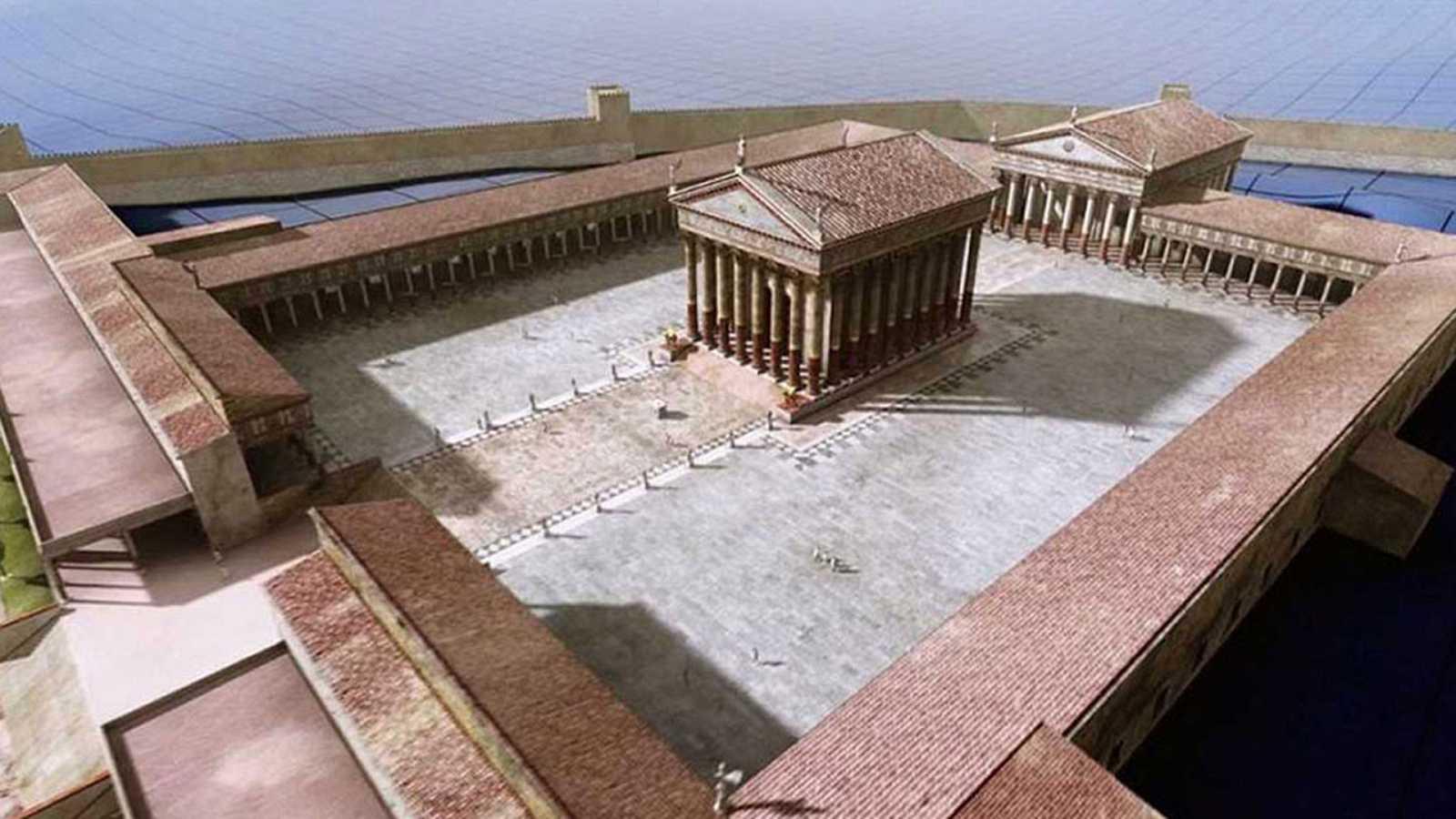 Ingeniería romana - Las ciudades I - ver ahora