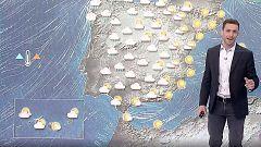 Lluvias en el oeste peninsular y temperaturas altas para esta época del año