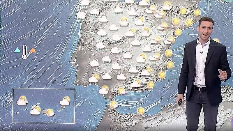 El tiempo - Lluvias en el oeste peninsular y temperaturas altas para esta época del año - Ver ahora