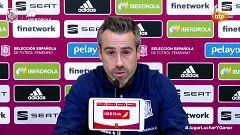 Fútbol - Convocatoria Selección Española Femenina. Rueda de prensa de Jorge Vilda