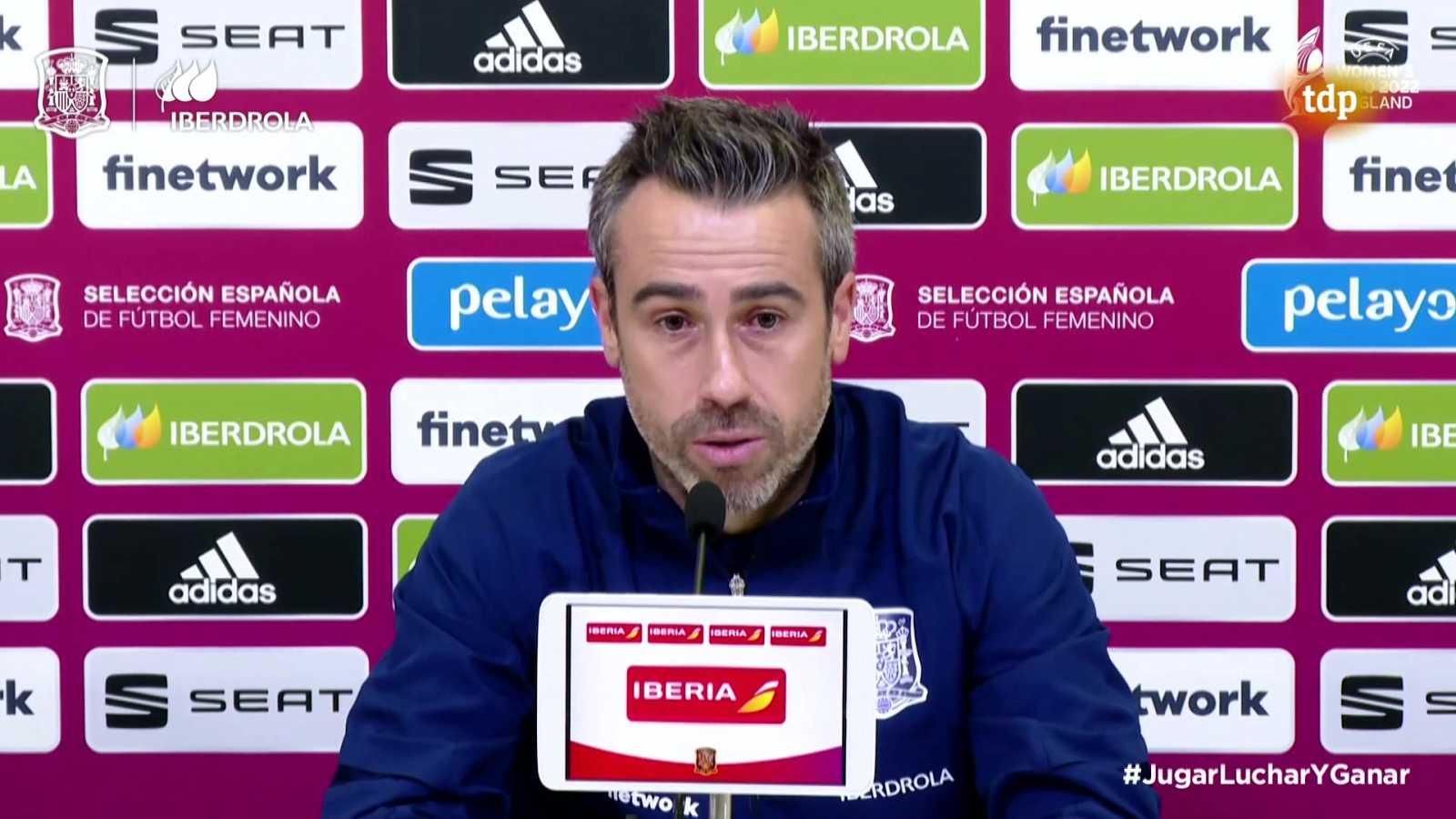Fútbol - Convocatoria Selección Española Femenina. Rueda de prensa de Jorge Vilda - ver ahora