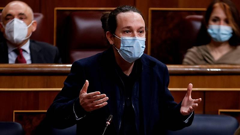 """Iglesias insiste en que no hay """"normalidad democrática"""" en España"""