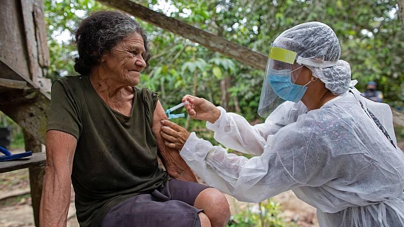 La cepa brasileña de COVID-19 causa estragos en el estado de Amazonas