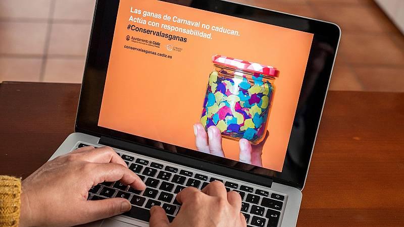 La pandemia le roba a Cádiz el Carnaval en las calles y traslada la celebración a las casas con actividades virtuales