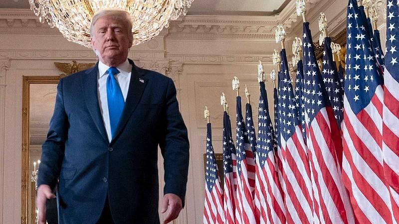 El Impeachment a Trump continúa este viernes con el turno de su defensa mientras sigue lejos del foco mediático tras su salida de la Casa Blanca