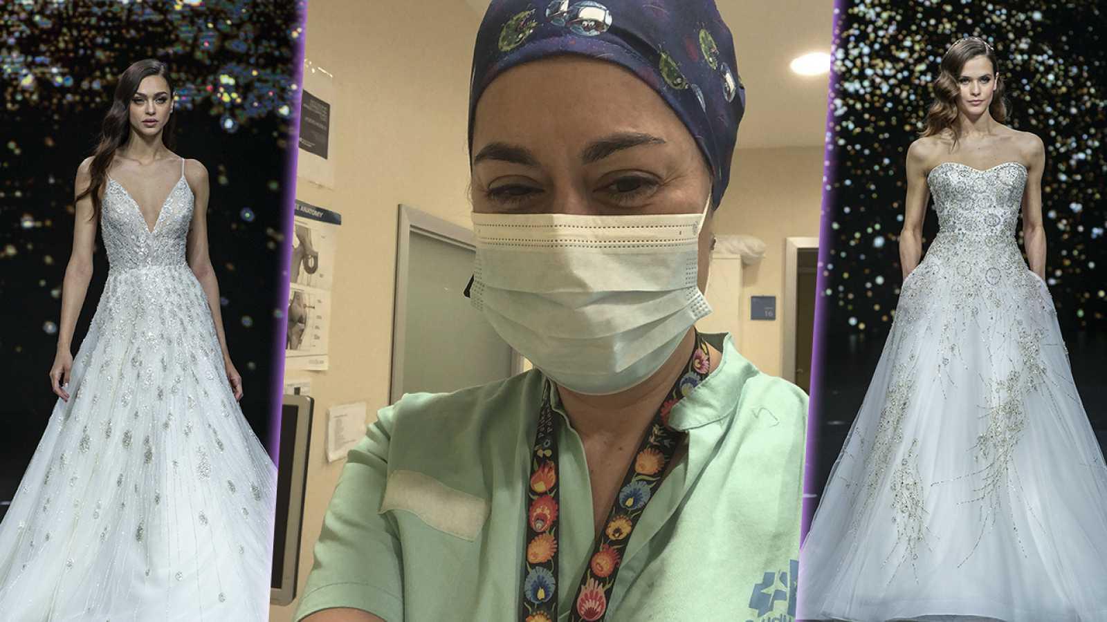 Corazón y tendencias - Belén es una de las enfermeras que se casará de Pronovias