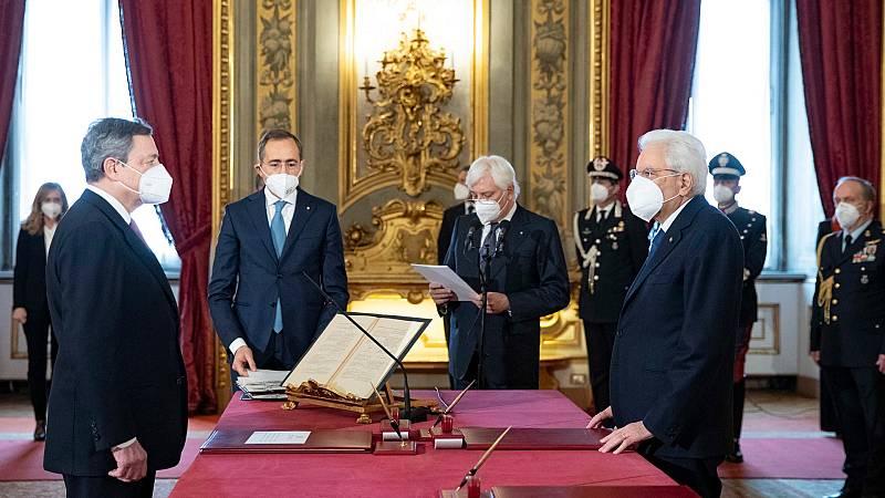 Draghi, nuevo primer ministro de Italia