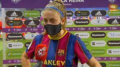 """Alexia Putellas, tras ganar la Copa de la Reina: """"A seguir así"""""""