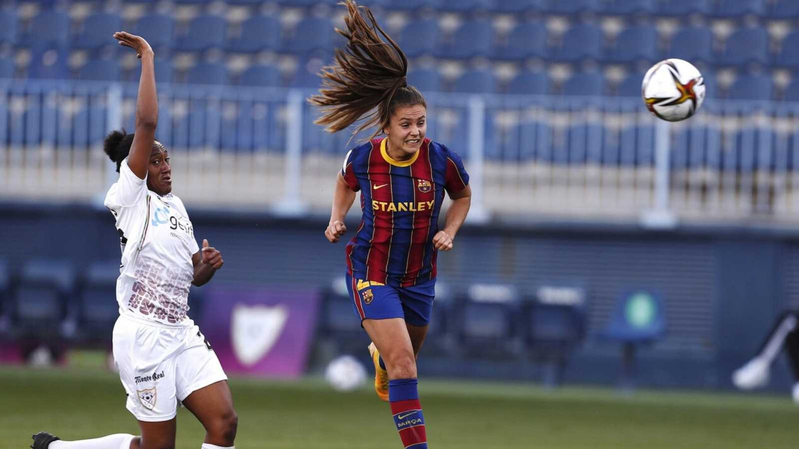 Fútbol - Copa de la Reina Final: EDF Logroño - FC Barcelona - ver ahora