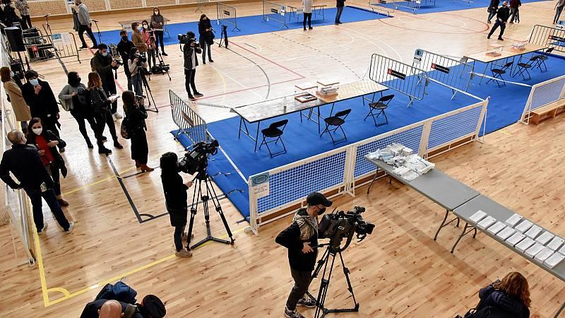 Toda la jornada electoral en Cataluña, en RTVE