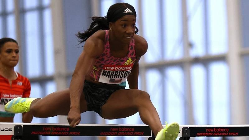 Kendra Harrison logra la mejor marca del año en los 60m vallas