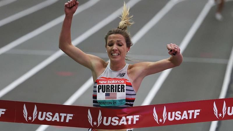 Elinor Purrier, tercera mejor marca de la historia en las dos millas