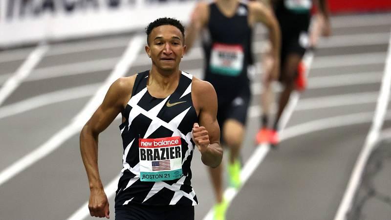 Donovan Brazier se lleva la victoria en 800m en Nueva York