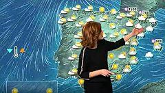 Viento fuerte en Andalucía, Galicia y el extremo oriental cantábrico