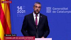Avance informativo 10 horas - Jornada electoral Cataluña - 14/02/21