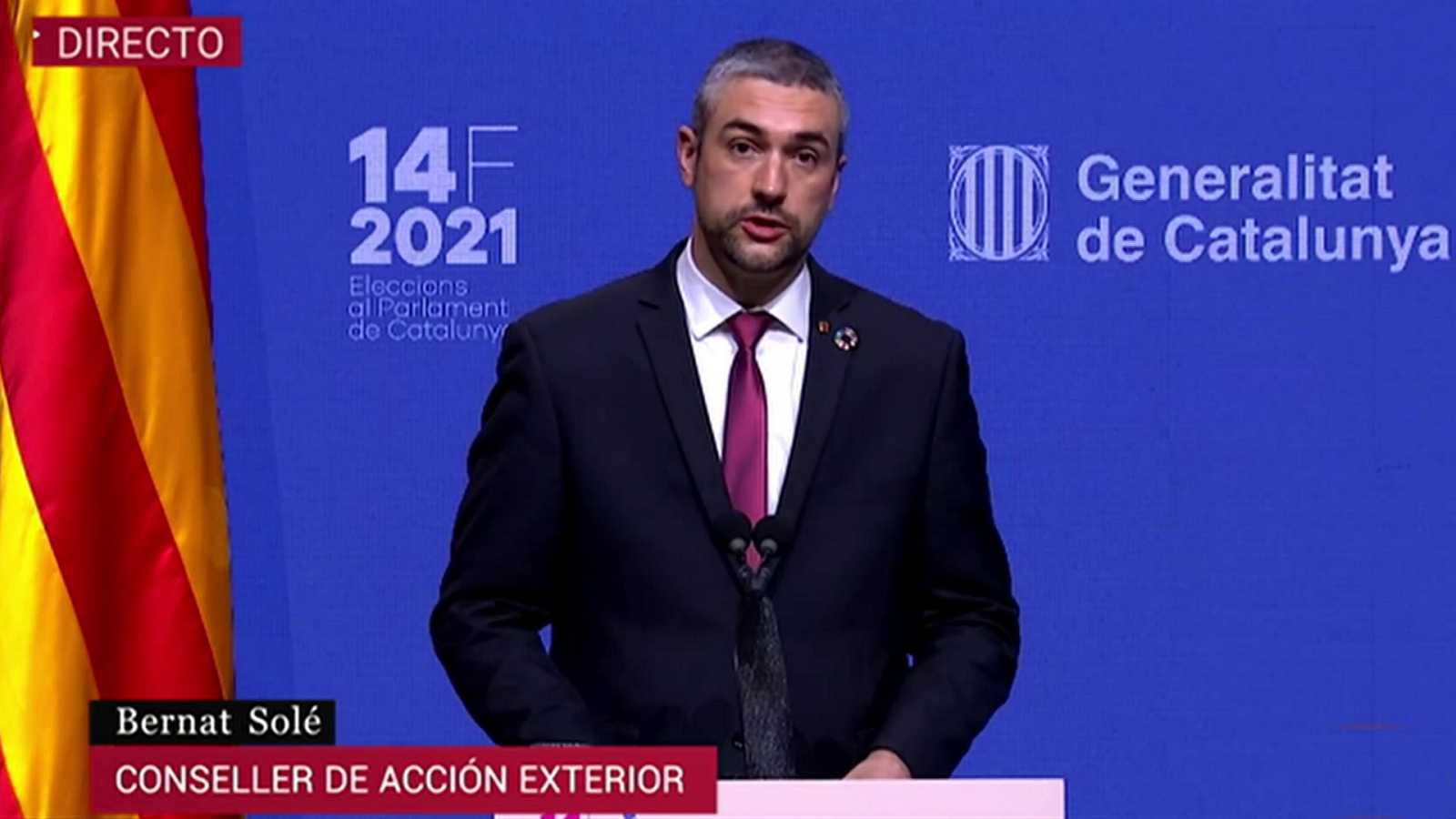 Avance informativo 10 horas - Jornada electoral Cataluña - 14/02/21 - ver ahora