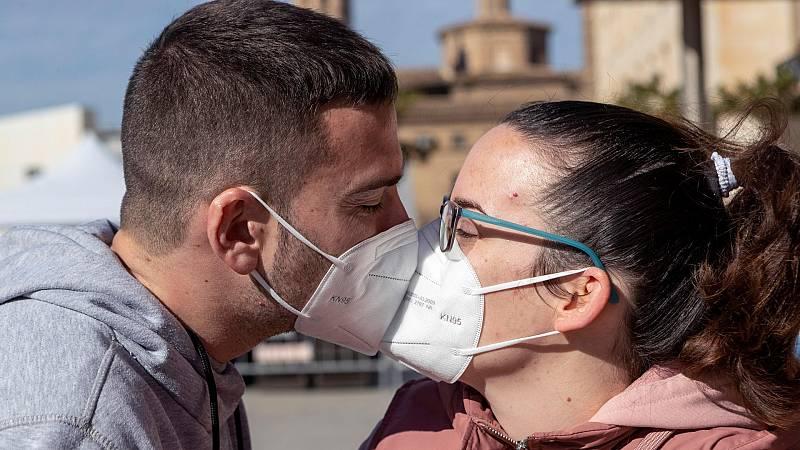El coronavirus deja un San Valentín diferente
