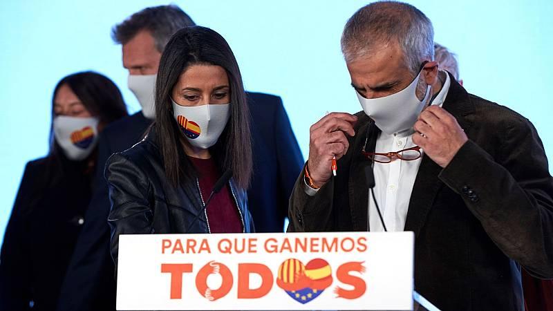 Ciudadanos se desploma en las elecciones catalanas