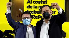 """Aragonès: """"Trabajaré para poner de acuerdo a todas las fuerzas a favor del derecho a decidir"""""""
